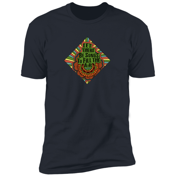 Let there be songs Premium Cotton T-Shirt