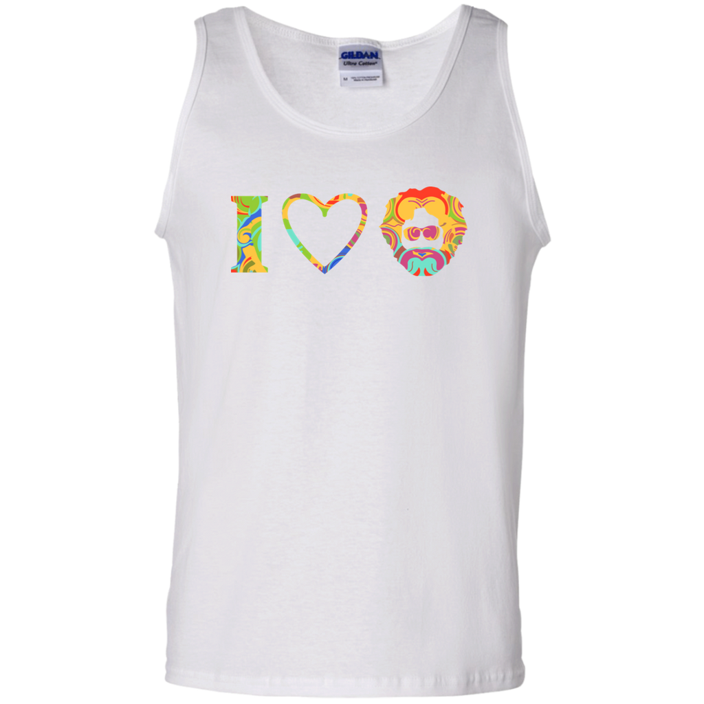 I Heart Jerry 100% Cotton Tank Top
