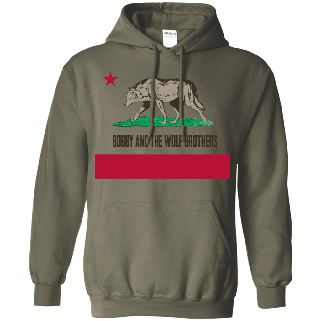 Bobby Wolf Brothers Pullover Hoodie