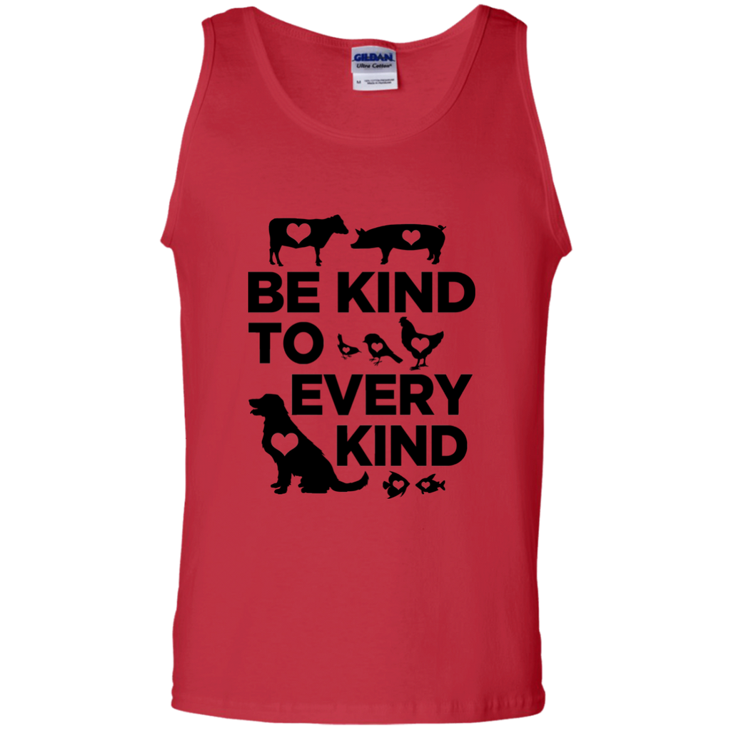 Be Kind To Every Kind 100% Cotton Tank Top