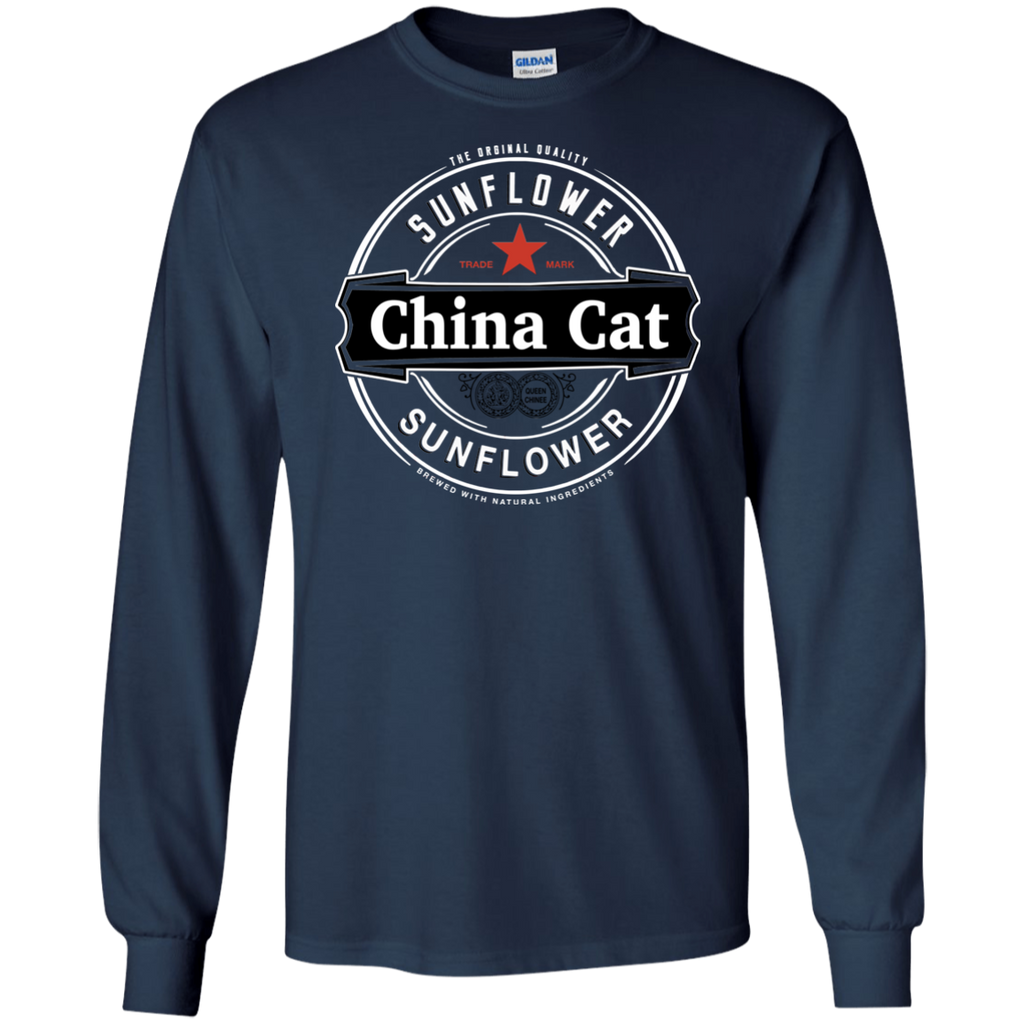 China Cat Heiny Long Sleeve Ultra Cotton T-Shirt