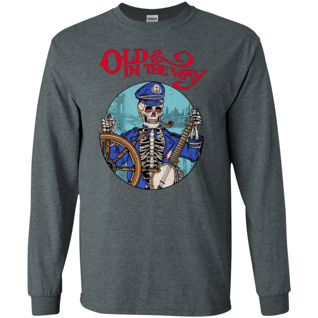Old In The Way Skeleton Long Sleeve Ultra Cotton T-Shirt