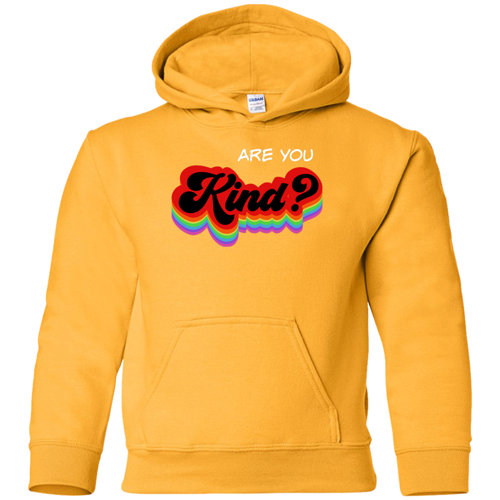 Are You Kind Youth Pullover Hoodie