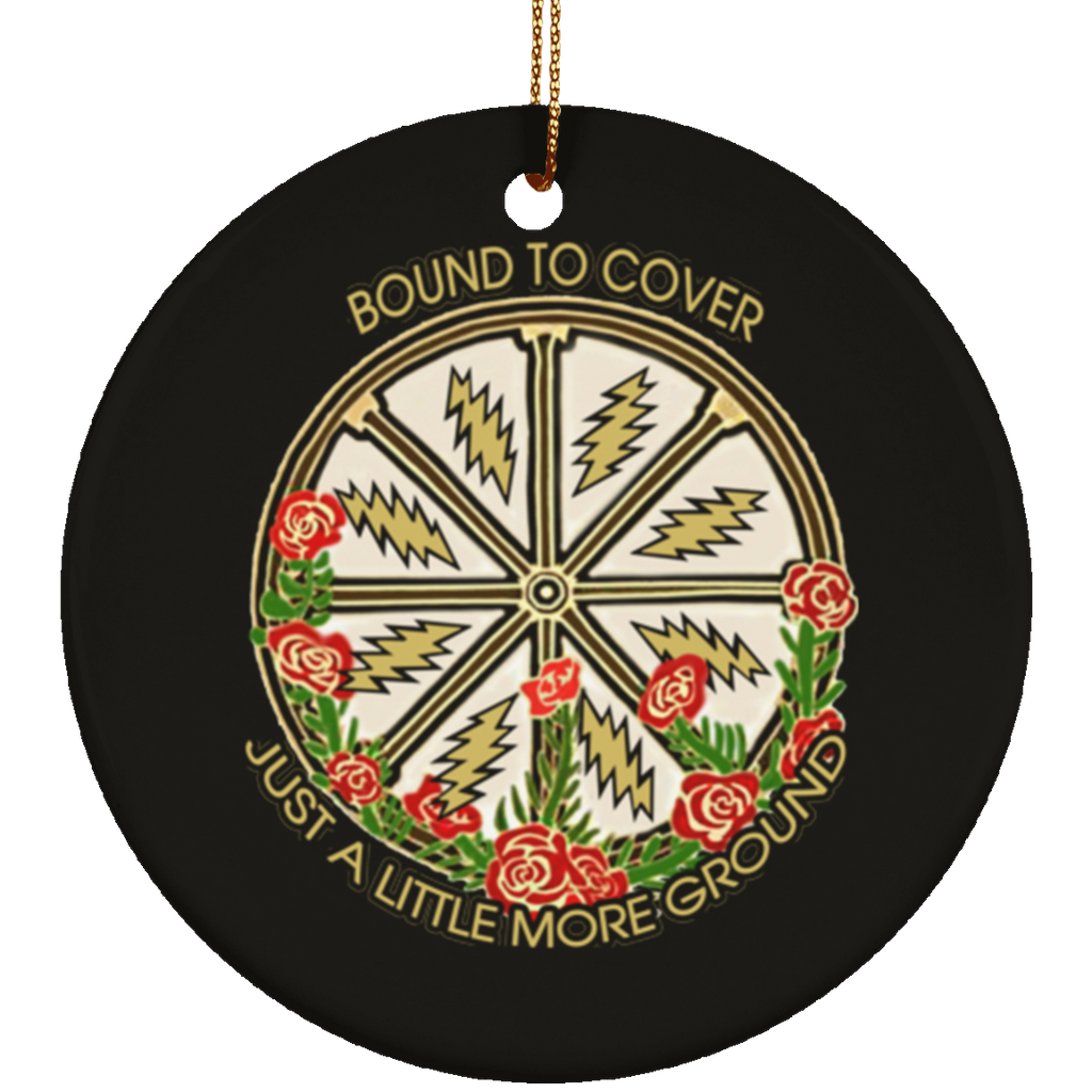 Bound To Cover Circle Tree Ornament
