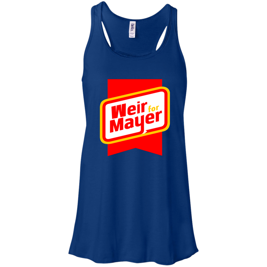 Weir For Mayer Flowy Racerback Tank
