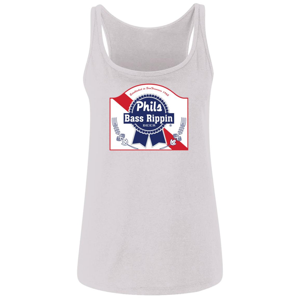 Phils Bass Rippin Ladies Cotton Tank Top