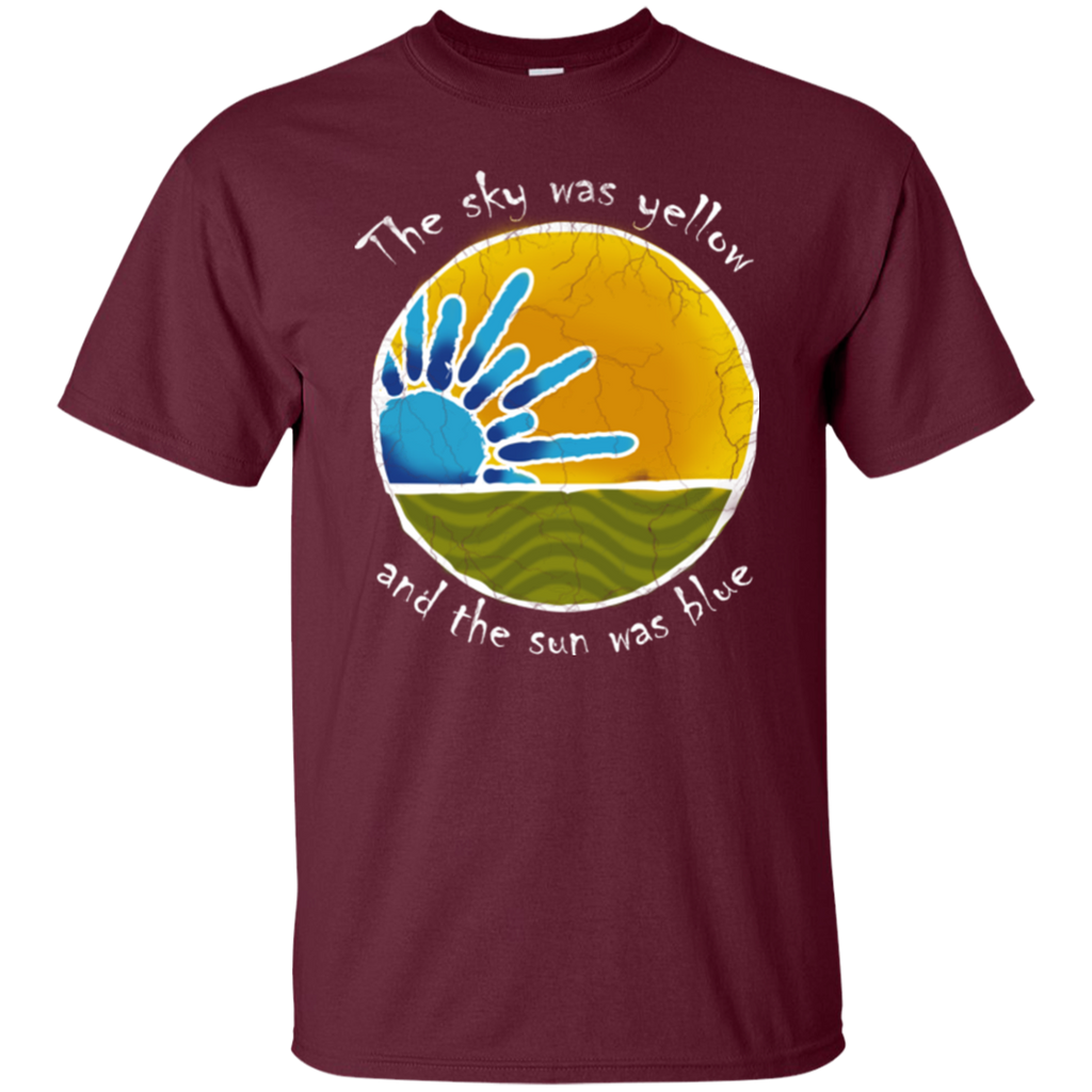 Sky Yellow Ultra Cotton T-Shirt in Maroon For Bill
