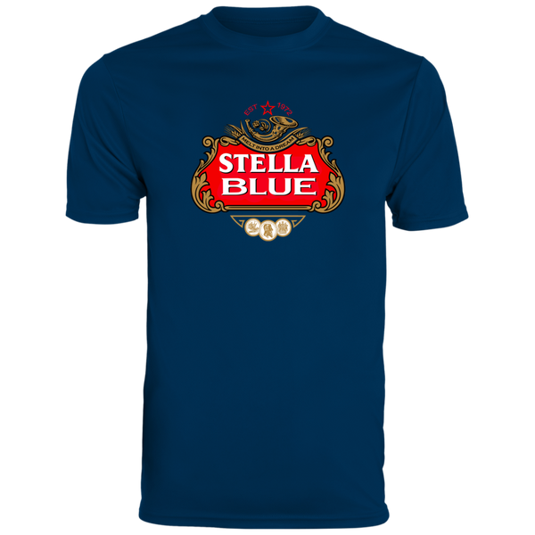 Stella Blue Men's Wicking T-Shirt