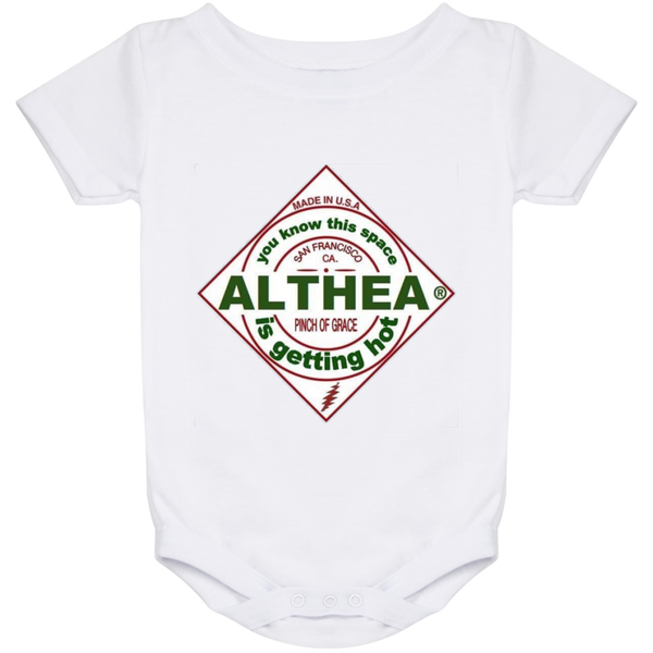 Althea Hot Sauce Baby Onesie 24 Month
