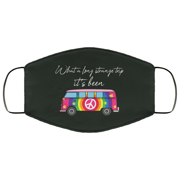 Long Strange Trip Bus 2 Layer Protective Face Mask