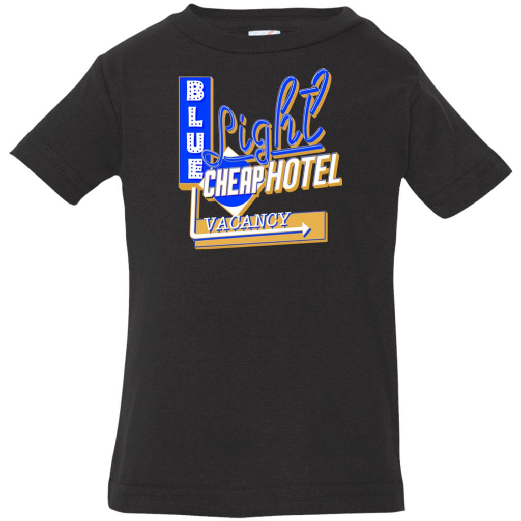 Blue Light Cheap Hotel Infant Jersey T-Shirt