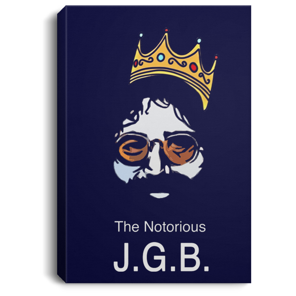 Notorious JGB Portrait Canvas .75 Inch Frame