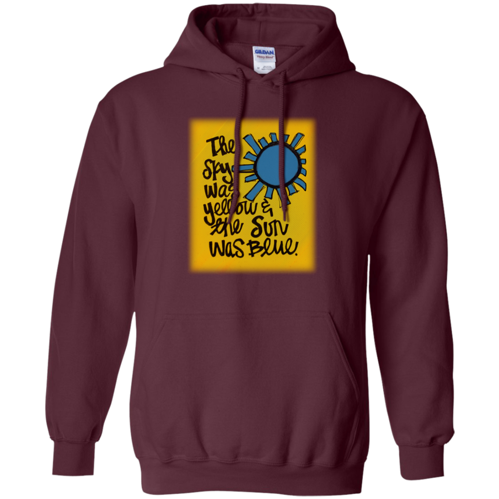 Sun Was Blue Pullover Hoodie