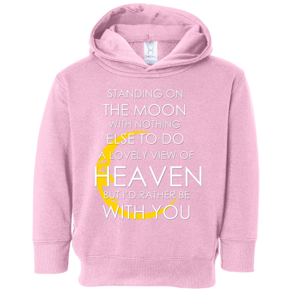 Standing Moon Toddler Fleece Hoodie