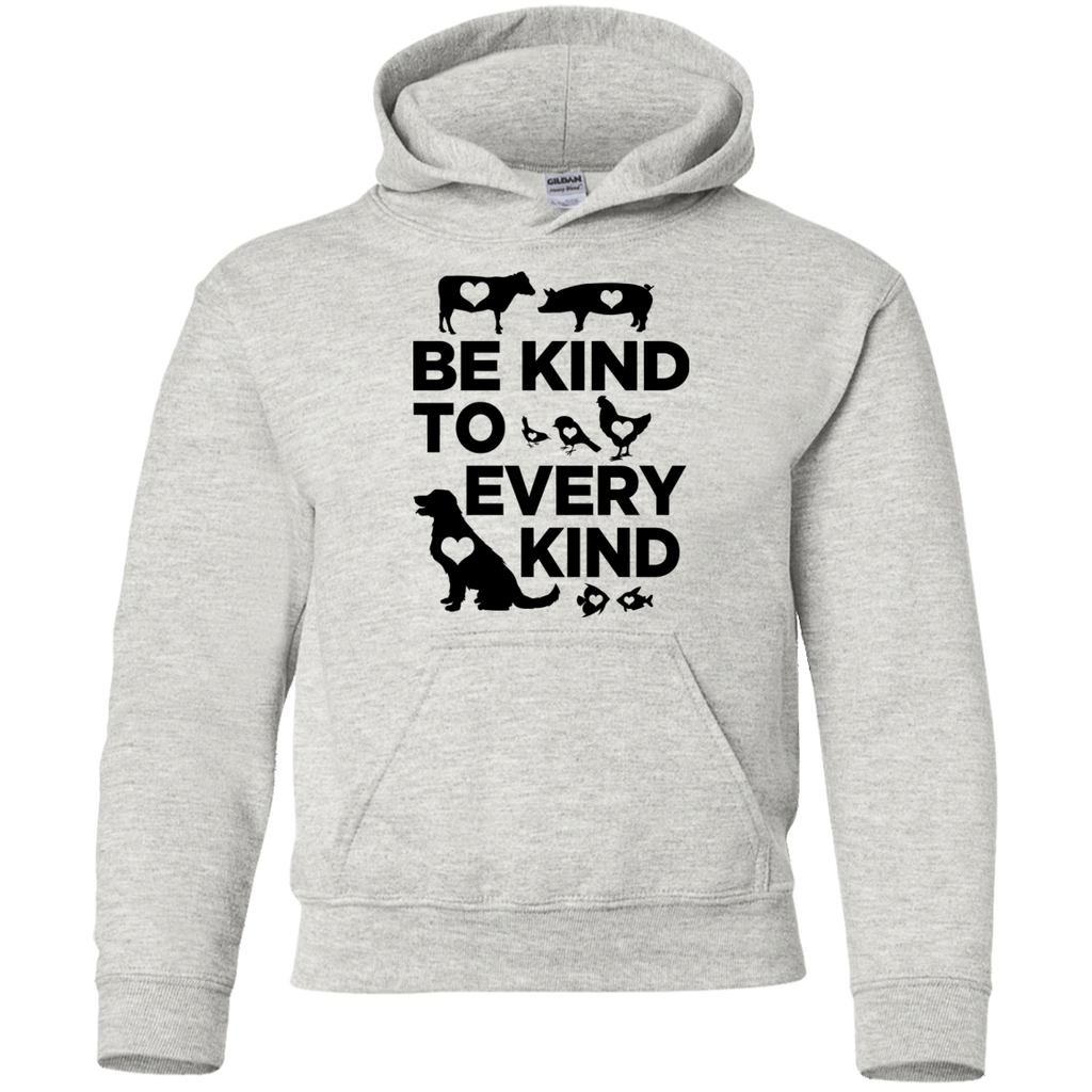 Be Kind To Every Kind Youth Pullover Hoodie