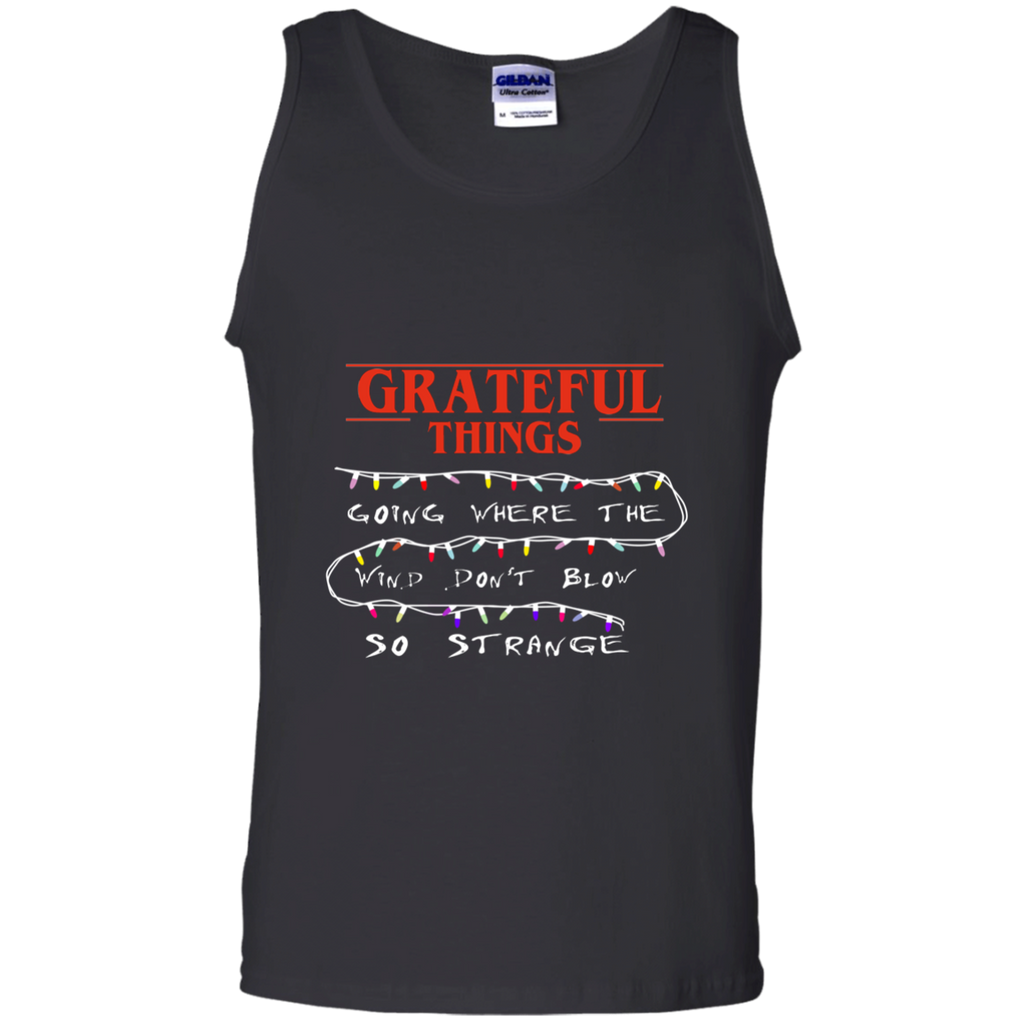 Grateful Things Cotton Tank Top