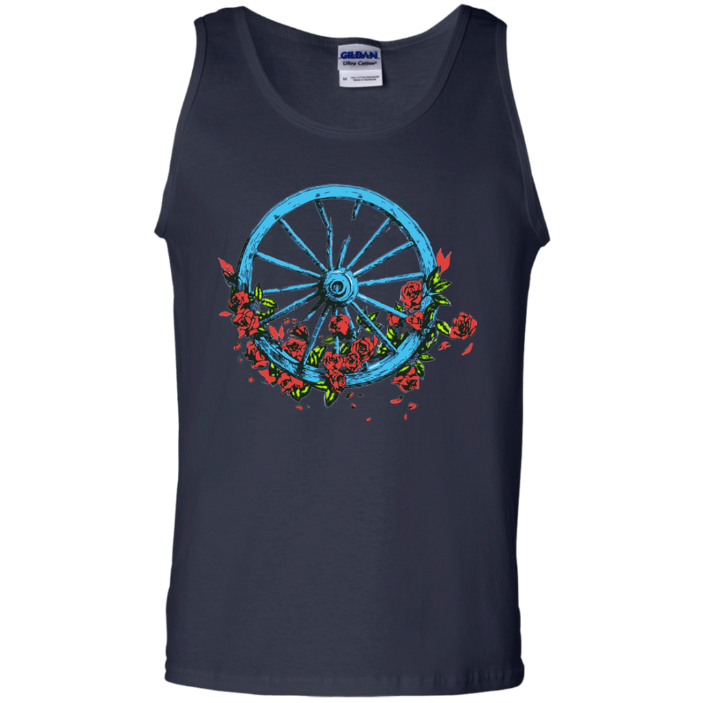 Overstock of Wheel Roses 100% Cotton Tank Top