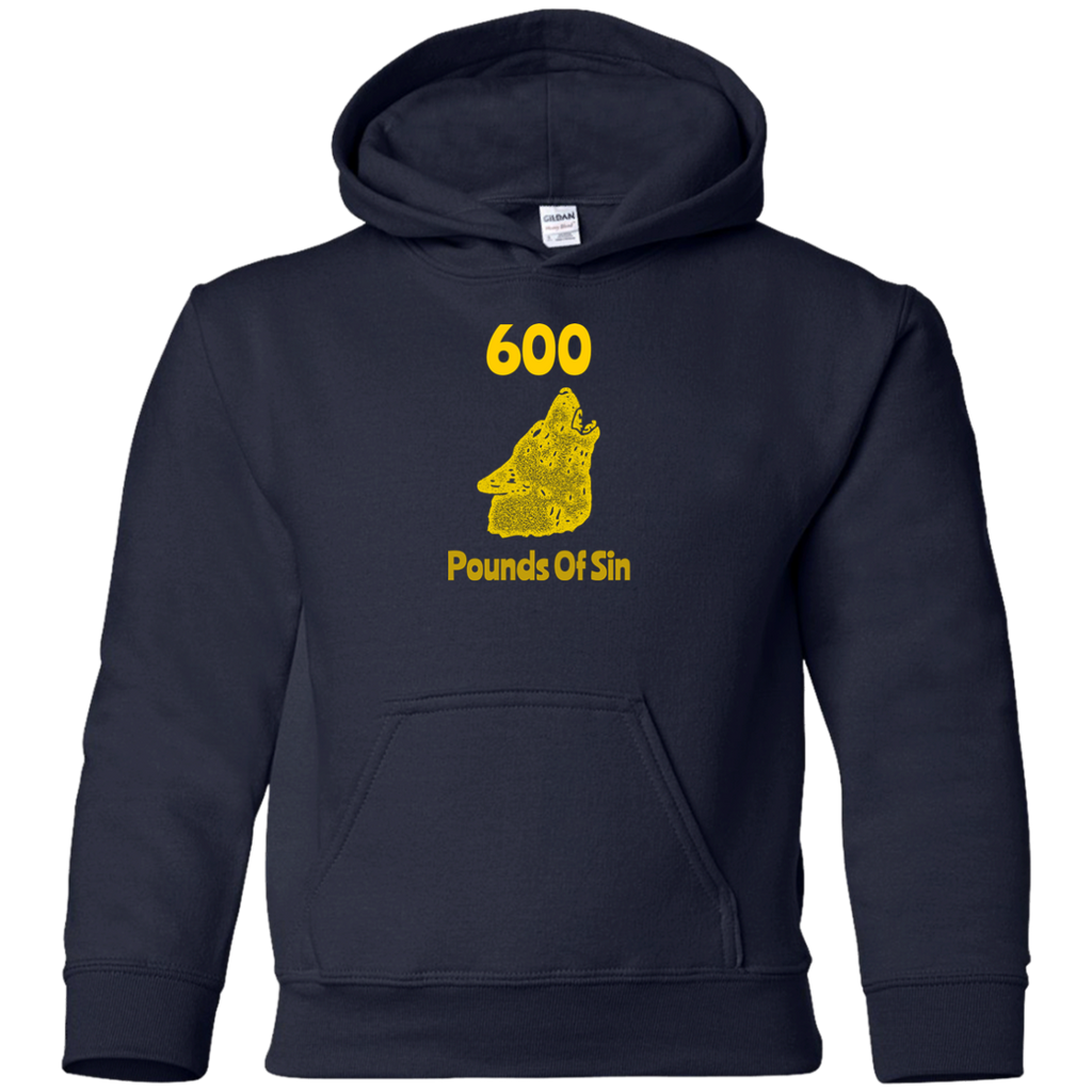 600 Pounds Of Sin Youth Pullover Hoodie