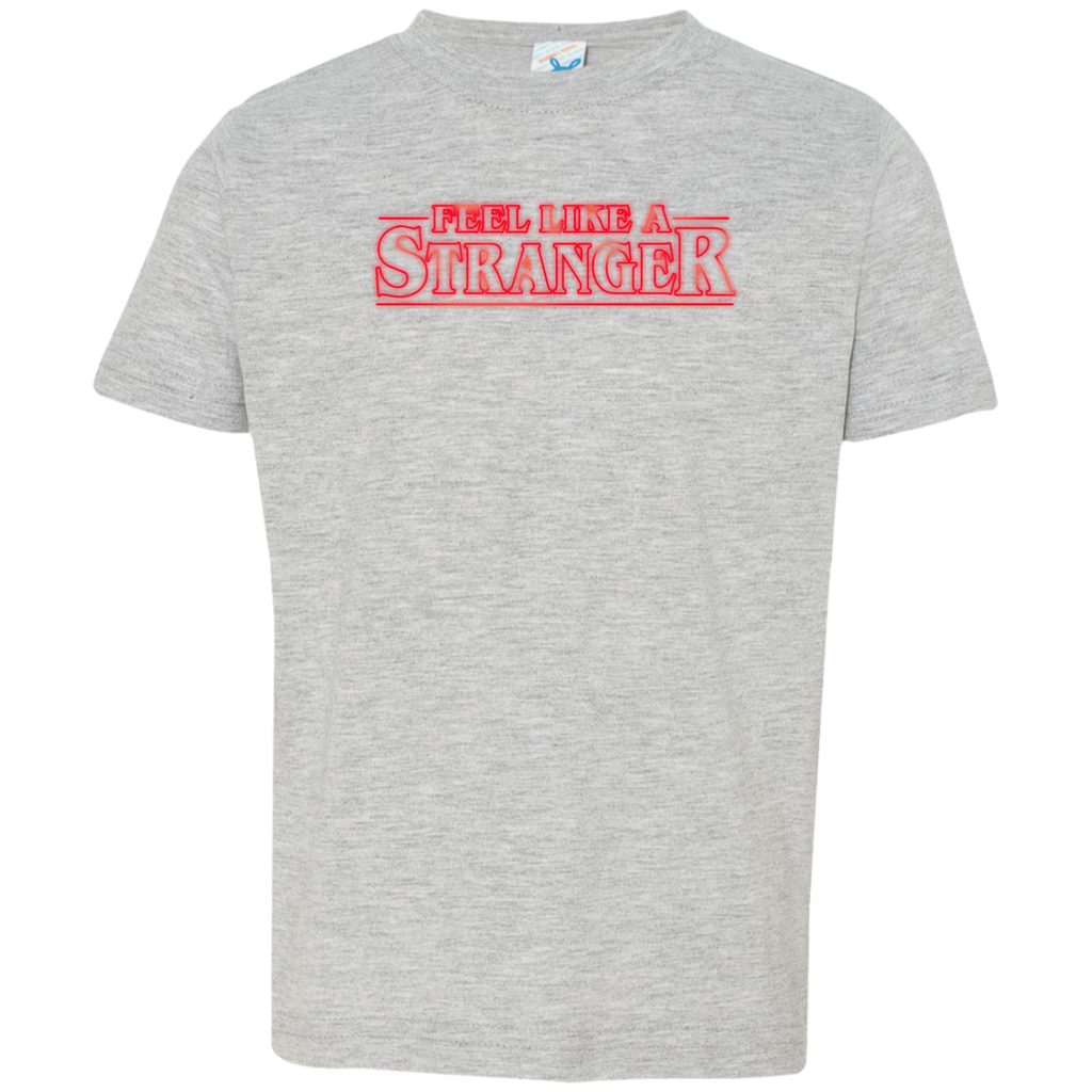 Feel Stranger Things Toddler Jersey T-Shirt