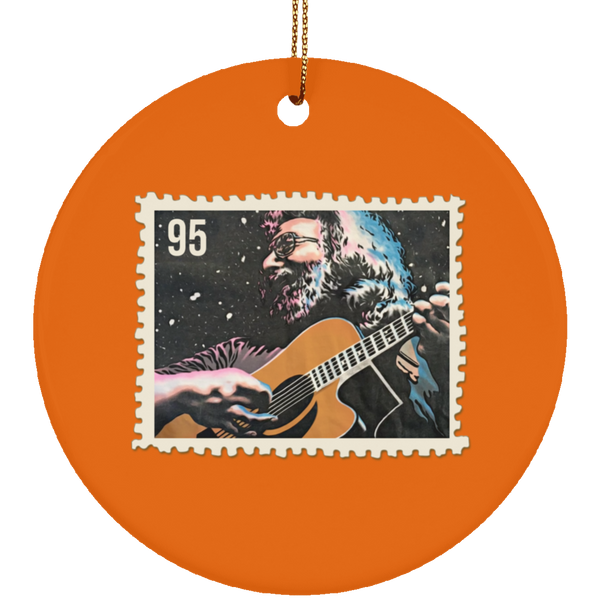 Jerry 95 Stamp Ceramic Circle Tree Ornament