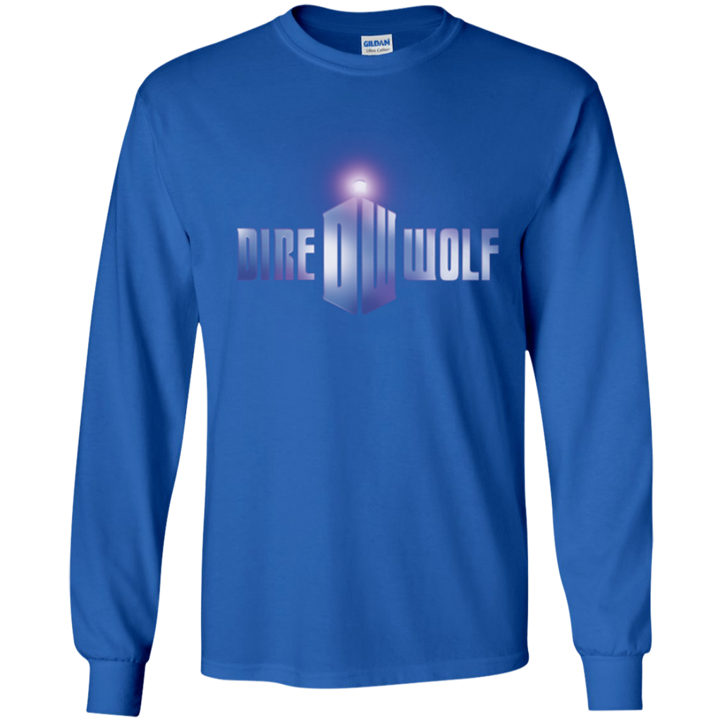 Dire Wolf Doctor Who Long Sleeve Ultra Cotton T-Shirt