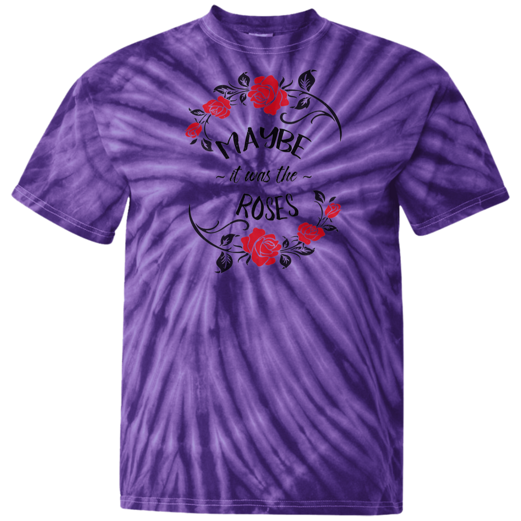 Maybe Roses Tie Dye T-Shirt