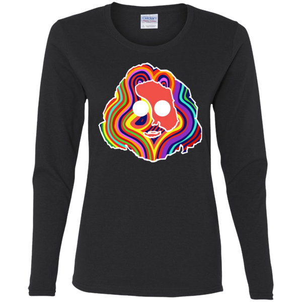 Jerry Colorful  Ladies' Cotton Long Sleeve T-Shirt