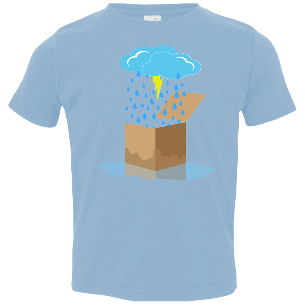 Rain Box Toddler Jersey T-Shirt