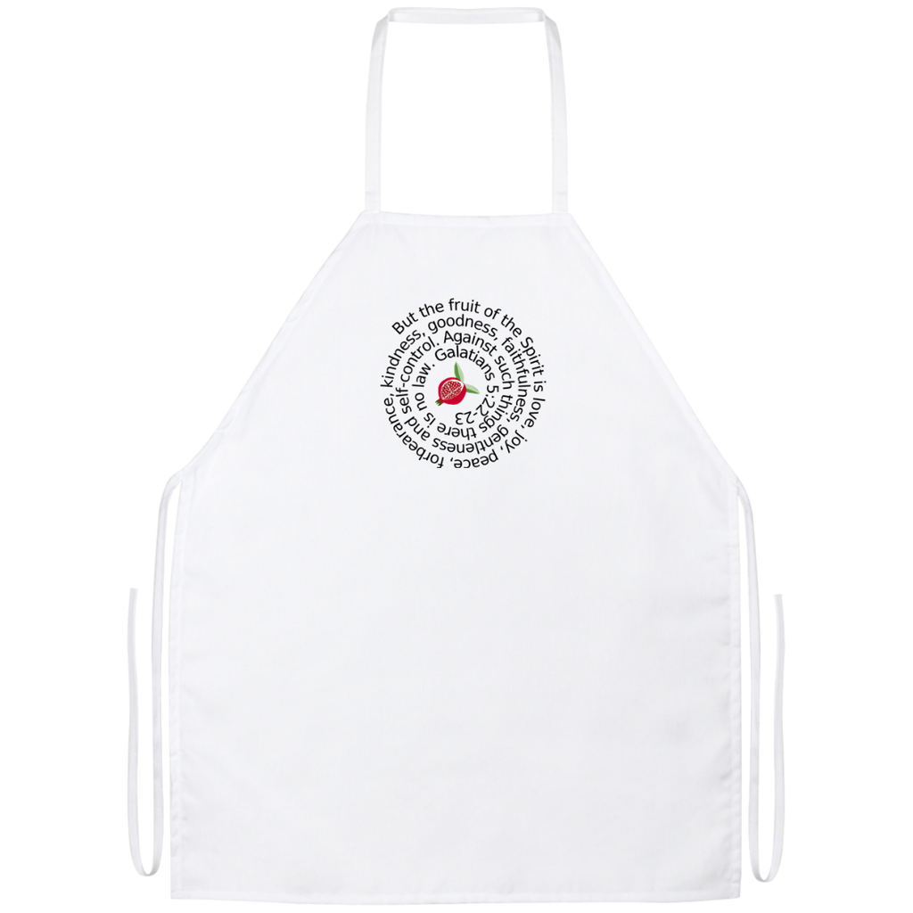Fruit of the Spirit Galatians 5:22-23 Apron