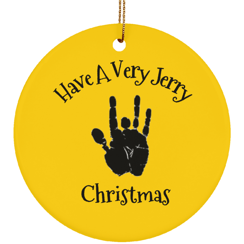 Have A Very Jerry Christmas Tree Ornament Circle