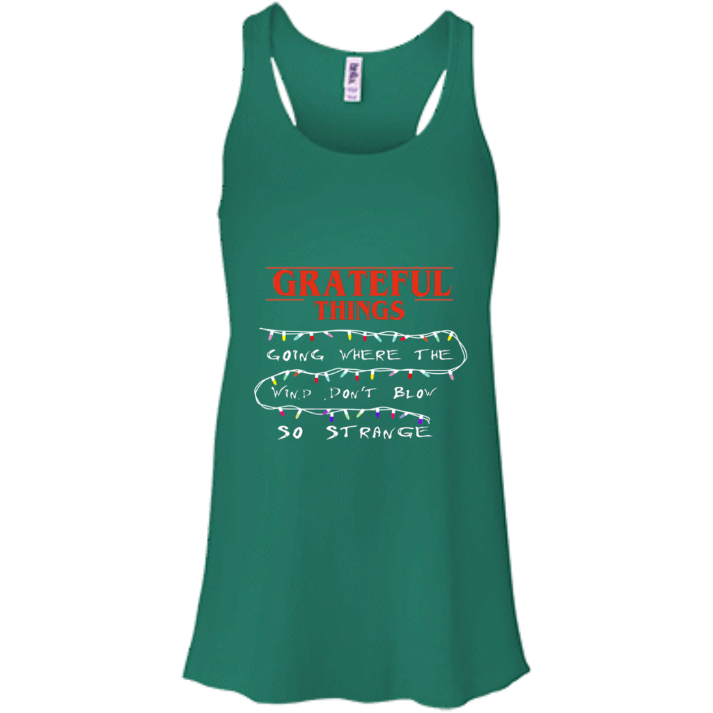 Grateful Things Flowy Racerback Tank