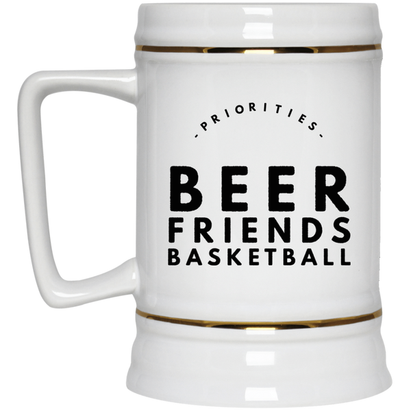 Beer Friends Basketball Beer Stein 22oz.