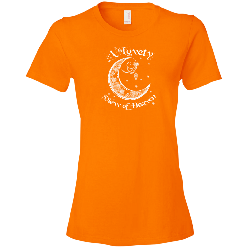 Lovely View Of Heaven Ladies Premium T-Shirt