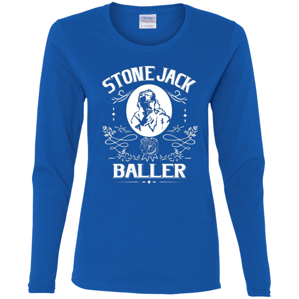 Stone Jack Baller Ladies' Cotton Long Sleeve T-Shirt