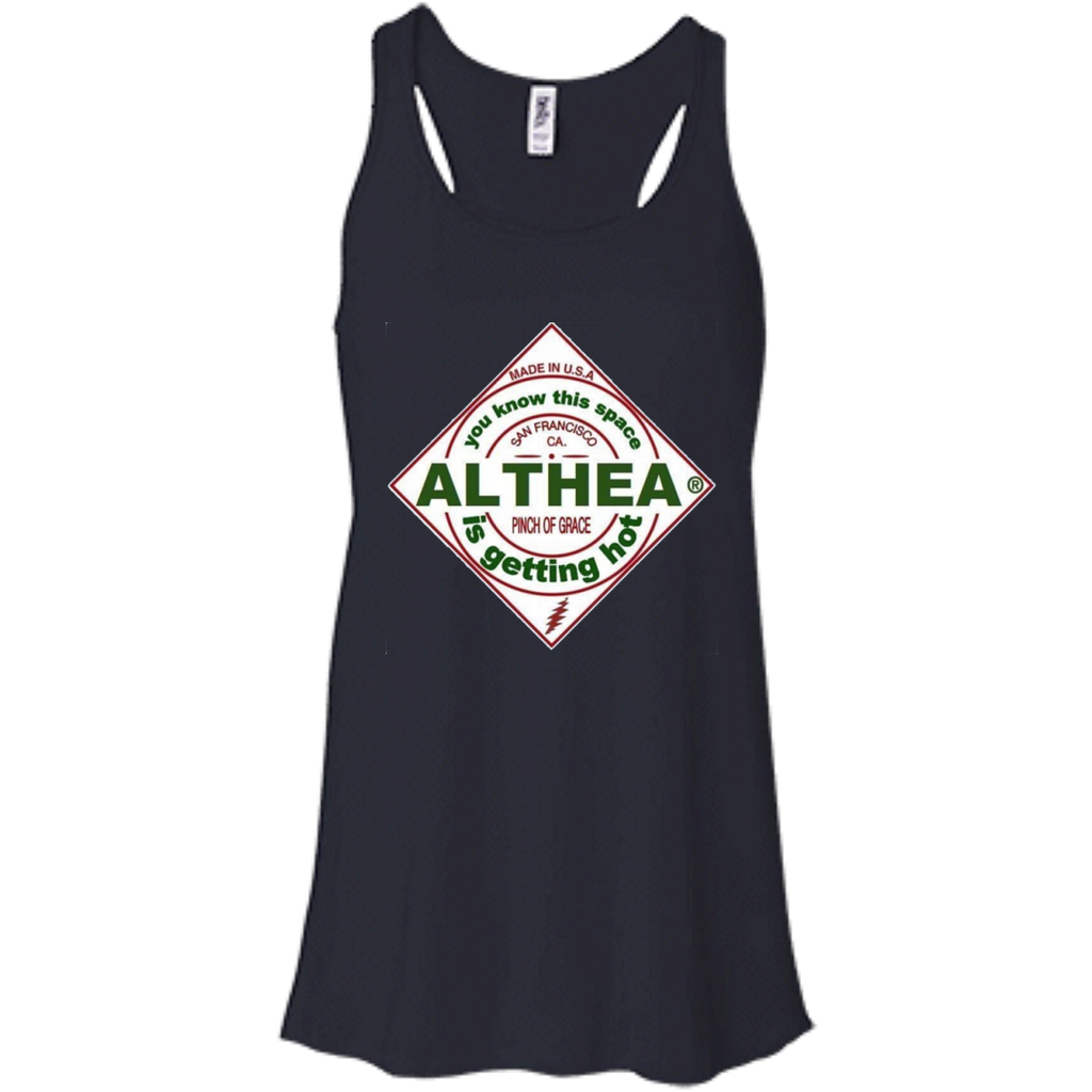 Althea Hot Sauce Bella+Canvas Flowy Racerback Tank