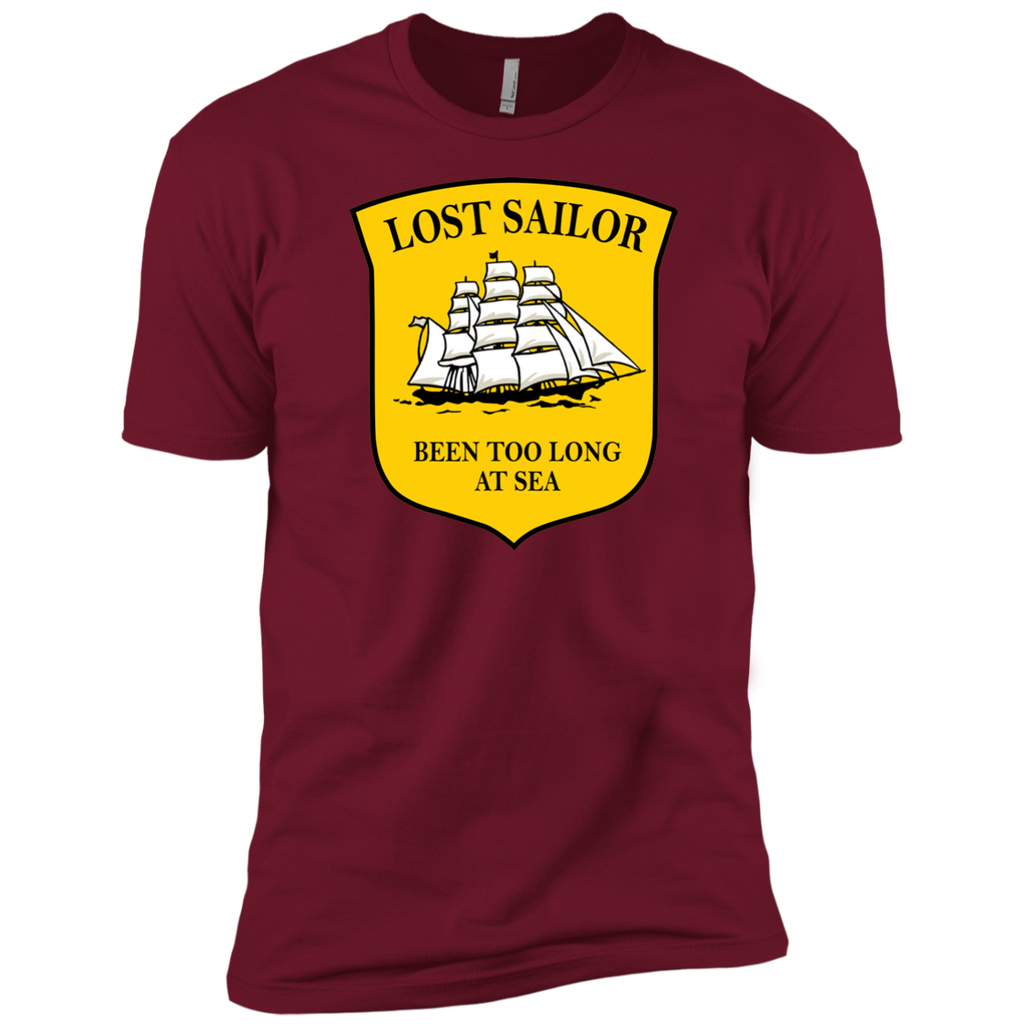 Sailor Long At Sea Premium  T-Shirt
