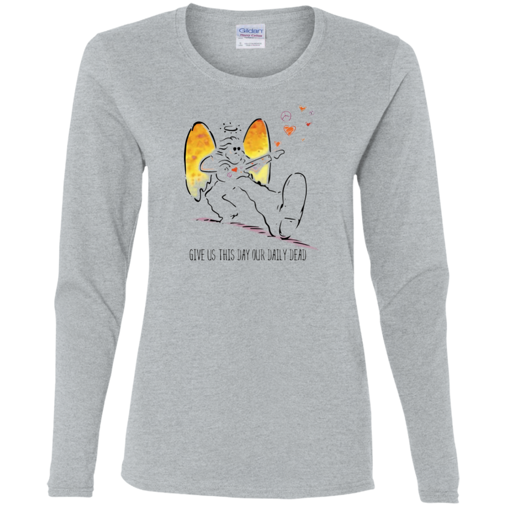 Daily Dead Ladies' Cotton Long Sleeve T-Shirt