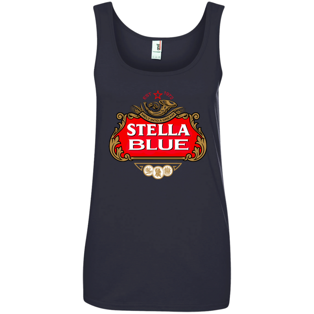 Stella Blue Ladies 100% Ringspun Cotton Tank Top