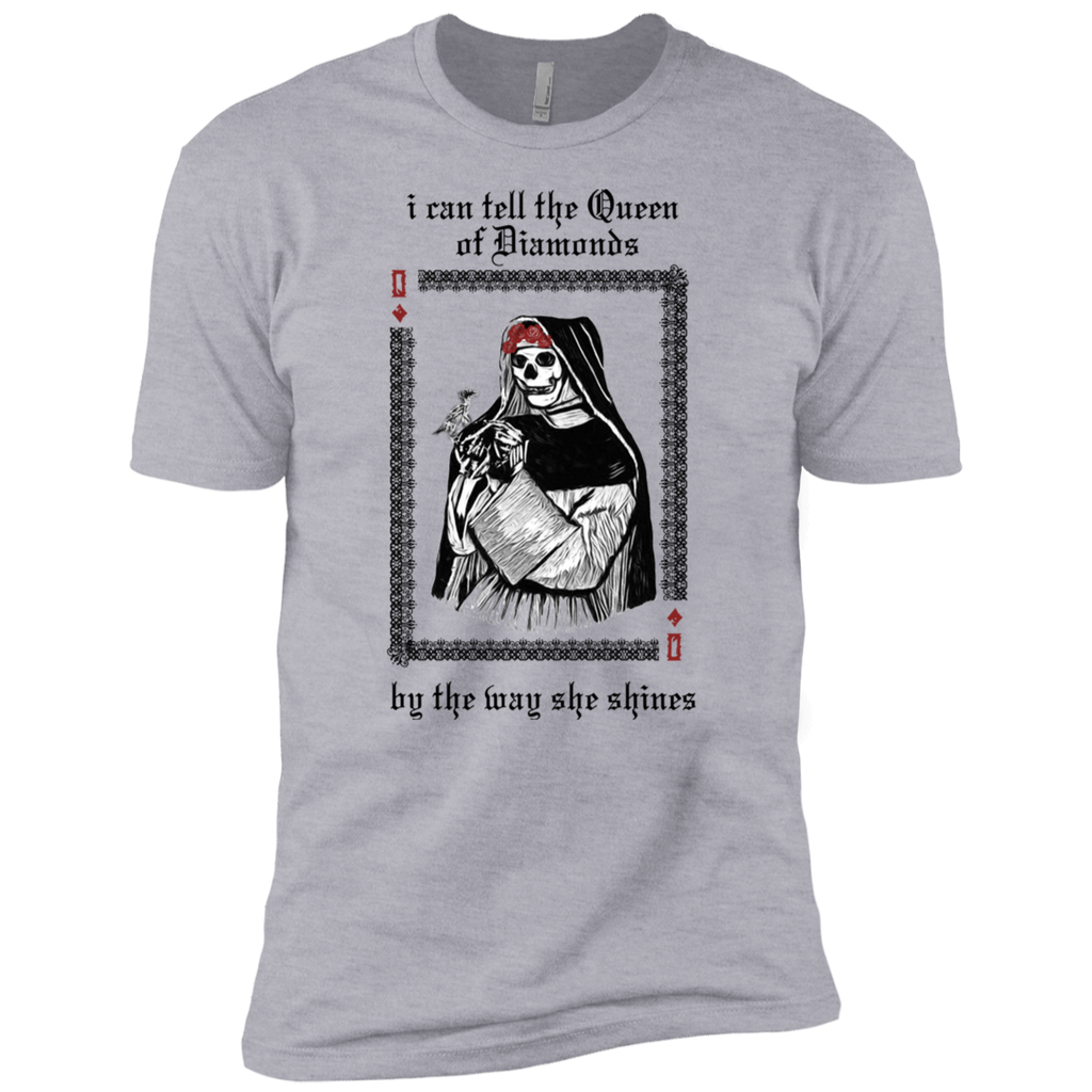 Overstock of Queen Of Diamonds Premium Cotton T-Shirt