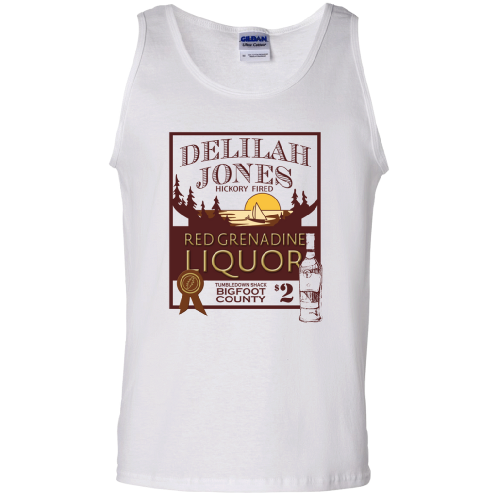 Delilah Jones Liquor 100% Cotton Tank Top