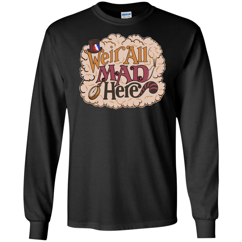 Weir All Mad Long Sleeve Ultra Cotton T-Shirt