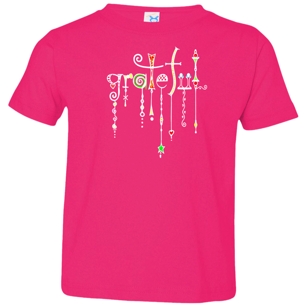 Grateful Jewels Toddler Jersey T-Shirt