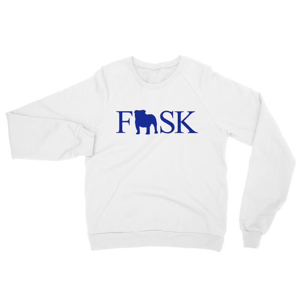 FISK Bulldog Icon Crew Sweatshirt - LIMITED EDITION