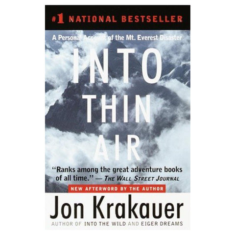 INTO THIN AIR, PAPERBACK