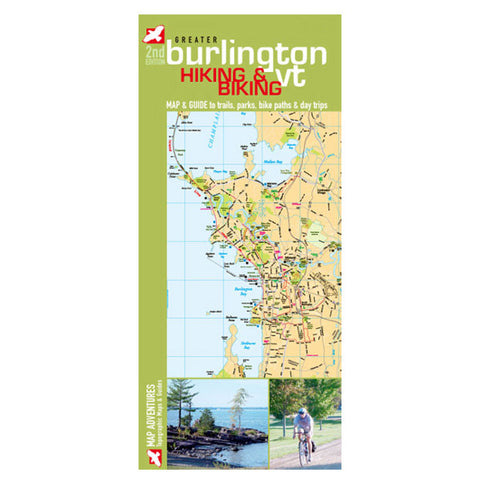 BURLINGTON VT HIKING & BIKE MP
