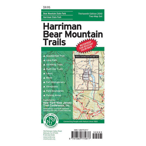 MAP: HARRIMAN BEAR MT.