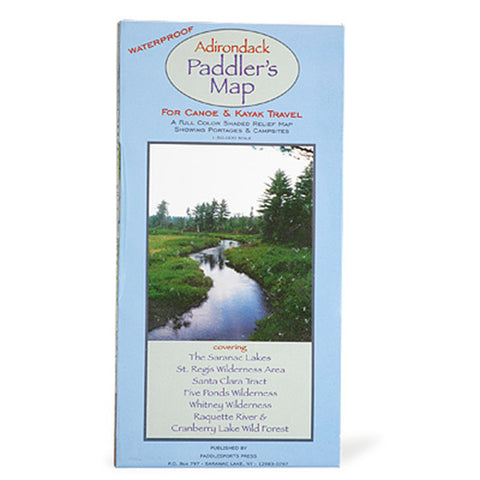 ADK PADDLERS GUIDE/MAP SET
