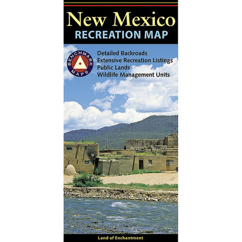 NEW MEXICO RECREATIONAL MAP