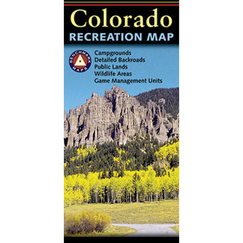 COLORADO RECREATIONAL MAP