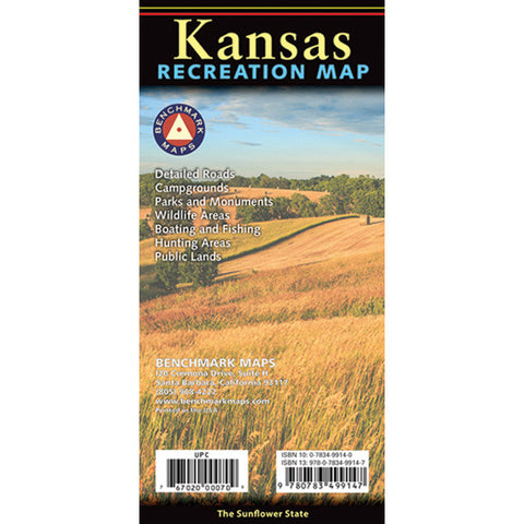 KANSAS RECREATION MAP